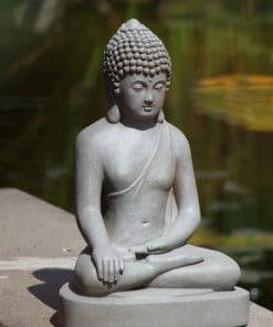 Zittend-Boeddha-tuinbeeld-40-centimeter