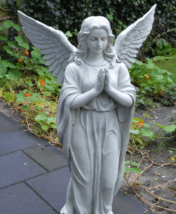 Biddende Engel Wit 96cm