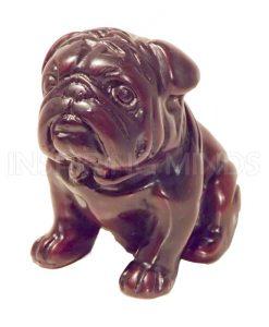 Hondje Bulldog 8cm
