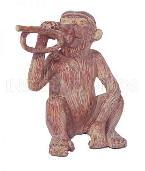 Aapje Blaast op Trompet