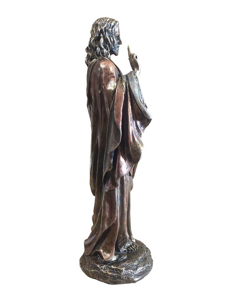 Bronzen Engelen Beelden.Jezus Beeld Bronskleur