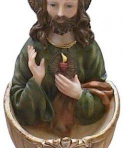 Wijwaterbakje-Jezus
